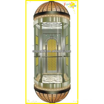 VVVF ascenseur panoramique résidentiel