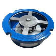 Válvula de retenção de disco único de ferro fundido