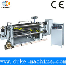 Professionelle China Hersteller Hohe Steifigkeit Horizontal Automatische PE Film Spaltmaschine (GFQ)