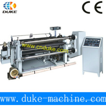 Professional China Manufacturer High Rigidity Horizontal Automatic PE Film Slitting Machine (GFQ)