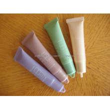 Tubo de brillo, brillo de labios tubo con el casquillo de la barra de labios