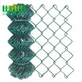 PVC Dilapisi Chain Link Wire Mesh Fence
