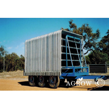 Galvanizado Weld Steel Cattle Yard