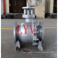 API 150lb 12 pouces robinet à tournant sphérique flottant en acier avec usine professionnelle de la Chine