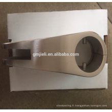 Moulure d'investissement 316 Pince en verre en acier inoxydable pour fixation / pièces en acier inoxydable