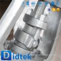 Didtek Top Qualität 3 '' 1500LB Butter geschweißte Schieber mit Handrad