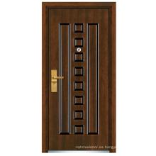 Puerta de madera de acero (FXGM-C312)