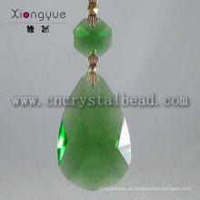 Lustre de cristal moderna gota verde 2015 levou projeto lâmpada pendente de cristal