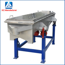 pvc powder linear vibrating sieve powder separating sifter machine