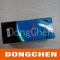 Étiquette brillante imperméable imprimée de fiole d'hologramme imperméable de coutume de livraison rapide