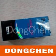 L'hologramme coloré fait sur commande bon marché de qualité empaquetant la boîte pharmaceutique de fiole 10ml