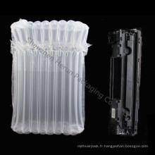 Emballage de sac à bulles étanche aux chocs pour la cartouche de toner