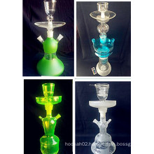 China Best Quality Tobacco LED Glass Shisha Hookah