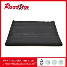 Durable noir réfléchissant polyester filé teint tissu