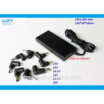 Ultra Slim Universal 90W Netzteil Laptop Adapter