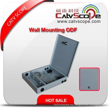 Caja de distribución de montaje en pared de alta calidad 12c / ODF