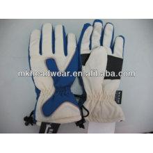Hommes gants de ski imperméables au polyester