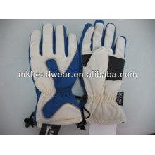 men cool polyester waterproof ski gloves