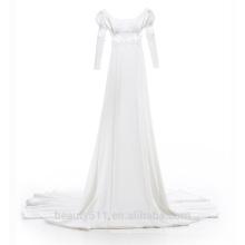 Astergarden sin tirantes mermaind encaje funda de tres cuartos de manga de vestido de novia vestido de novia TS212