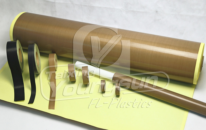 ptfe glass fiber fabric adhesive release tape