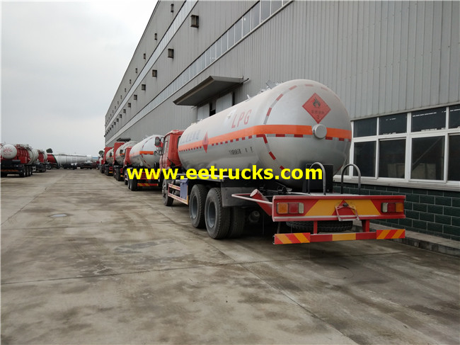 LPG Delivery Tank Truck