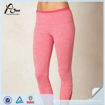 High Quality Dry Fit Capri Custom Supplex Yoga Leggings for Women