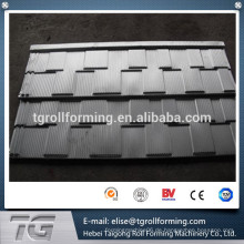 Alibaba Websit Eisen Dachziegel Formmaschine, Nigeria konkurrenzfähigen metallischen Ziegeldach Blatt