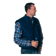Dunkelblaue Body Warmer Weste