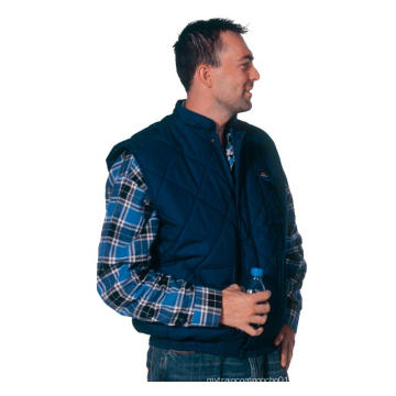 Darkblue Body Warmer vest