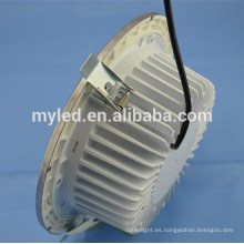 4inch 12W aluminio Dimmable LED Proyector Downlight Epistar SMD2835 Chip