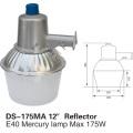 Iluminação plástica do jardim de rua da lâmpada de rua do mercúrio do vapor do mercúrio 175W