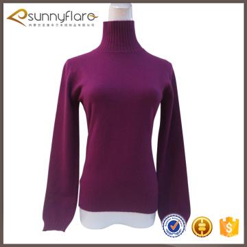 Fine 100 percent cashmere sweater for autumn