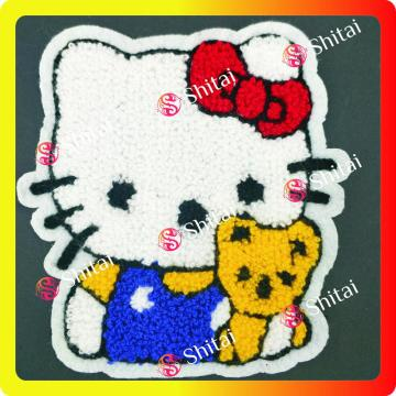 Hallo kitty Chenille-patches