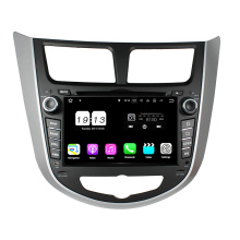 Car Audio System Hyundai Verna / Accent / Solaris 2011-2012