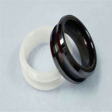 Customized Black Zirconia Ceramic Wearable Samrt Ring