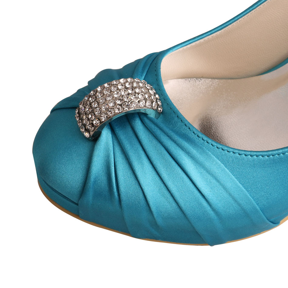Aqua Blue Wedding Shoes