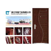 Porte en bois composite en bois massif Porte intérieure en bois