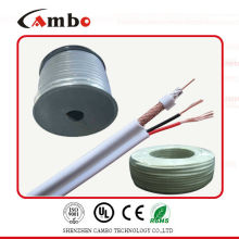 Cable coaxial RG59 siamese 2c power