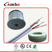 Câble coaxial RG59 siamois 2c puissance
