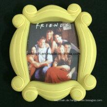 Kundenspezifischer großer Gummi PVC-Foto-Rahmen für Andenken-Geschenke