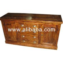 Aparador de madera de Sheesham