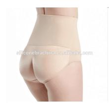 Body-abraçando cintura alta hip up calcinha