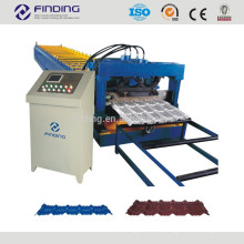 Colored steel roof tile making machine metal roofing cold roll former