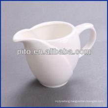 P&T porcelain factory milk jug, ceramics creamer, saucer jug 16609