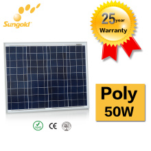 China Manufacturer Cheap Offer Poly Solar Panel 50W