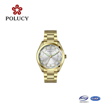 Day/Date Full Stainless Steel Women Watches