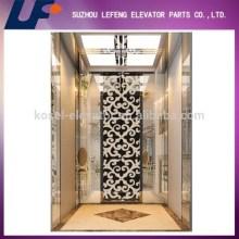 Standard Mirror Etching Elevator Cabin usd for Passenger Elevator