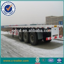 3 axles Transport 40ft and 20ft container truck