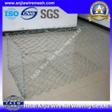 Galvanized Hexagonal Gabion Stone Box with (CE and SGS)
