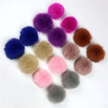DIY Accessories Real Fox Fur Pompom Fox Fur pom poms